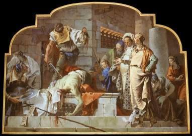 exécution de Jean Baptiste